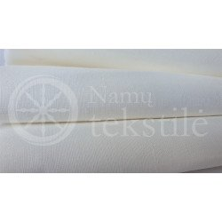 Natural whitened half-linen fabric LM 3287, 145 g/m²