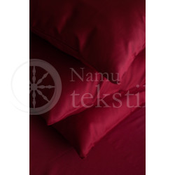 Satin sheets (burgundy)