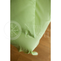 Satin sheets (green)