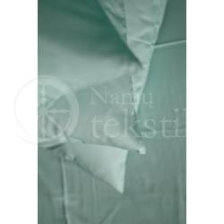 Satin sheets (blue)