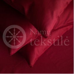 Satin bedding BURGUNDY