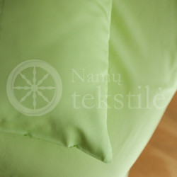 Satin bedding GREEN