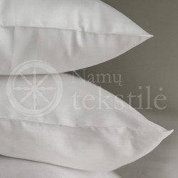 Satin pillowcase 40x60 (white)