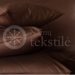 Satin pillowcase (brown)