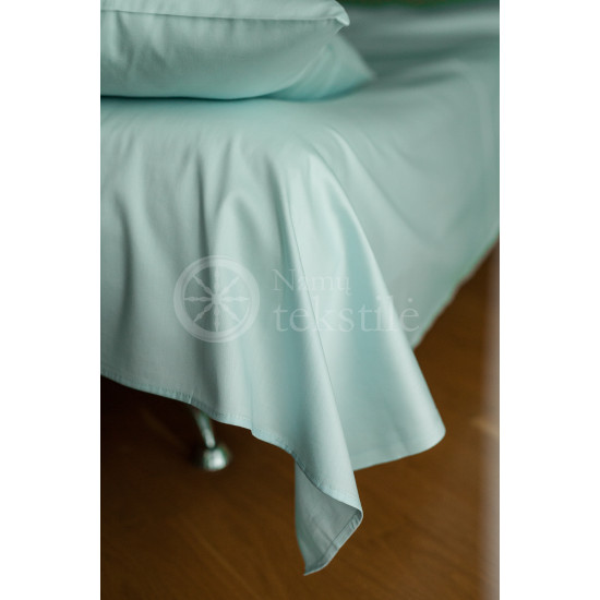 Satin pillowcase 40x60 (blue)
