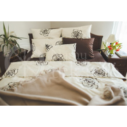Satin bedding AMELIA