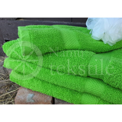 Cotton terry towel jasmine