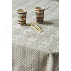 Jacquard linen tablecloth KLĖTIS